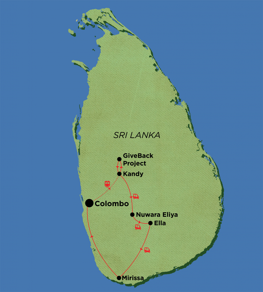 Sri Lanka – Tuk Tuk Challenge
