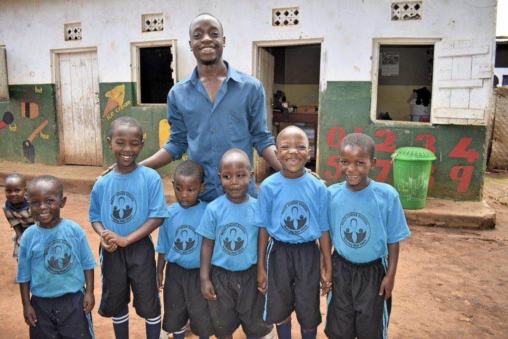 Volunteer in Uganda