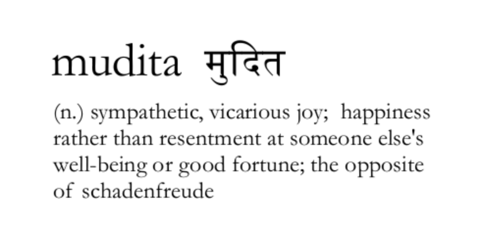 What does Mudita Mean
