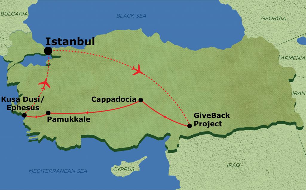 volunteer in turkey