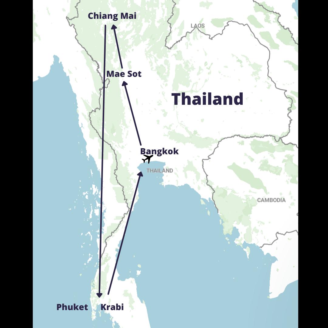 Turnip Thailand Trip